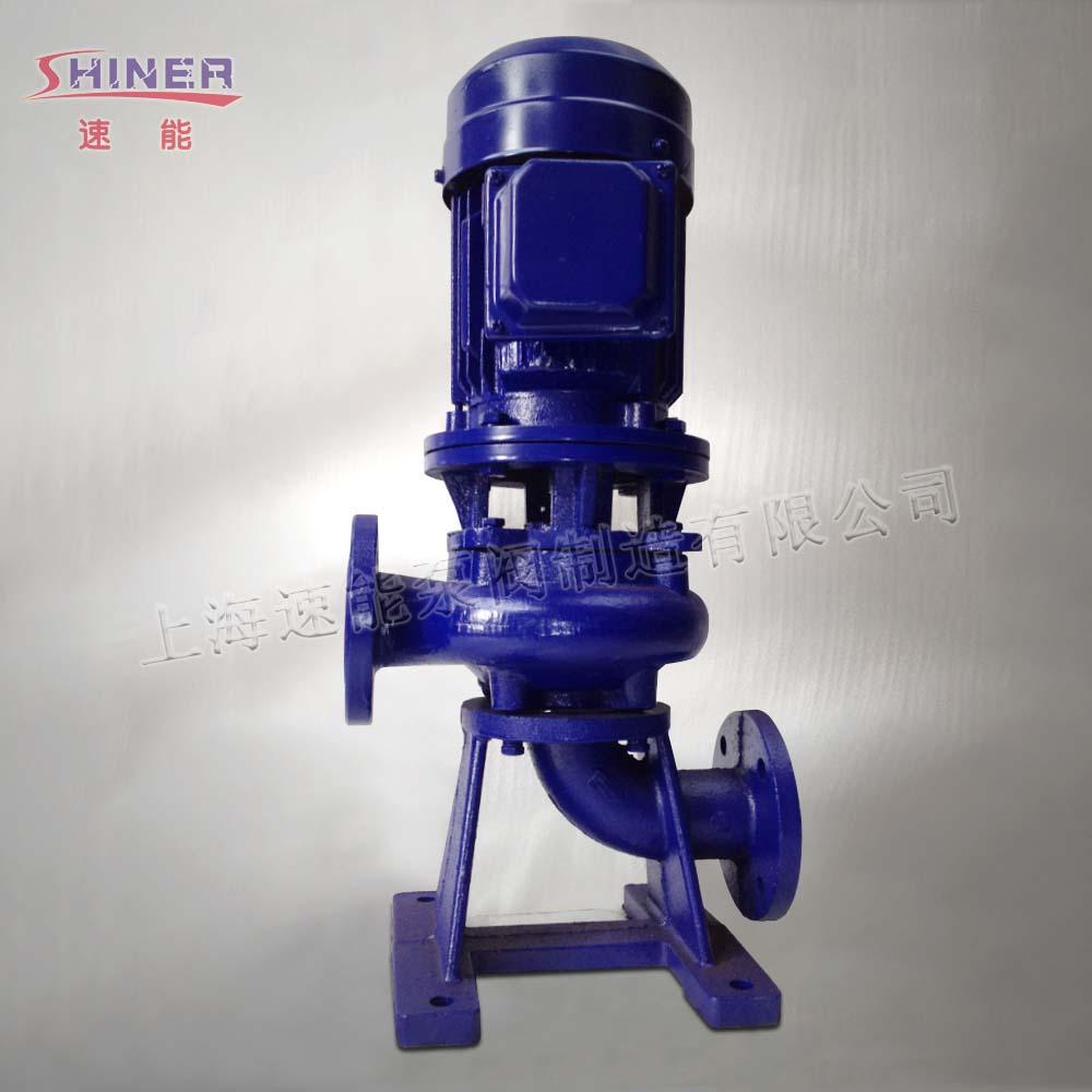 65LW25-30-4直立式排污泵概述 65LW25-30-4直立式排污泵采用JB/T6535-92《离心污水泵技术条件》标准进行设计,主要包含了由轴、轴承架、泵盖、叶轮、泵座、电机支架、电机等部件。LW直立式排污泵的结构为为立式单级单吸式,采用了双流道叶轮机构,能够通过排污泵口径5倍的纤维物质和直径为排污泵口径50%的固体颗粒。 65LW25-30-4直立式排污泵型号意义: 例如:65LW25-30-4 65—进出口口径(mm)—(毫米) LW—直立式排污泵 25&m